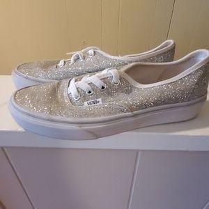 Van's glitter sneakers